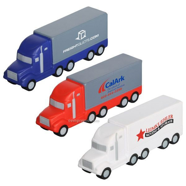 Semi Truck Squeeze Toy