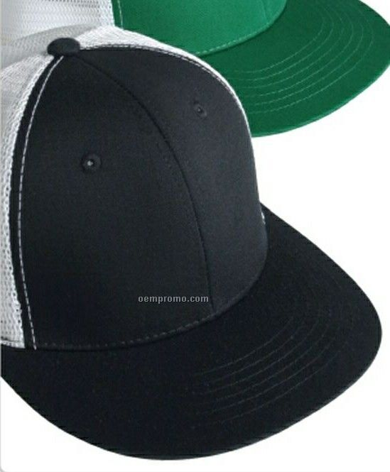 6-panel Classic Mesh Trucker's Cap (One Size Fits All)
