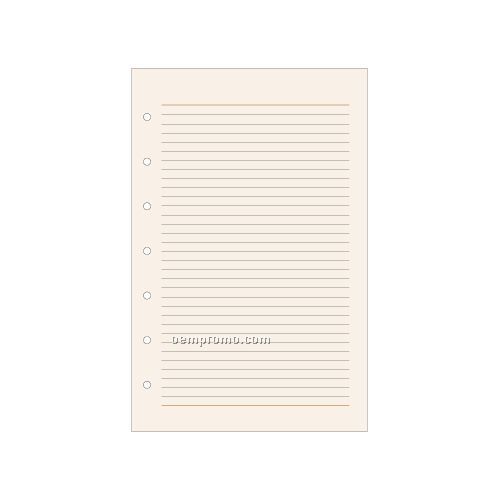 7-hole Notes Pages: 50 Count