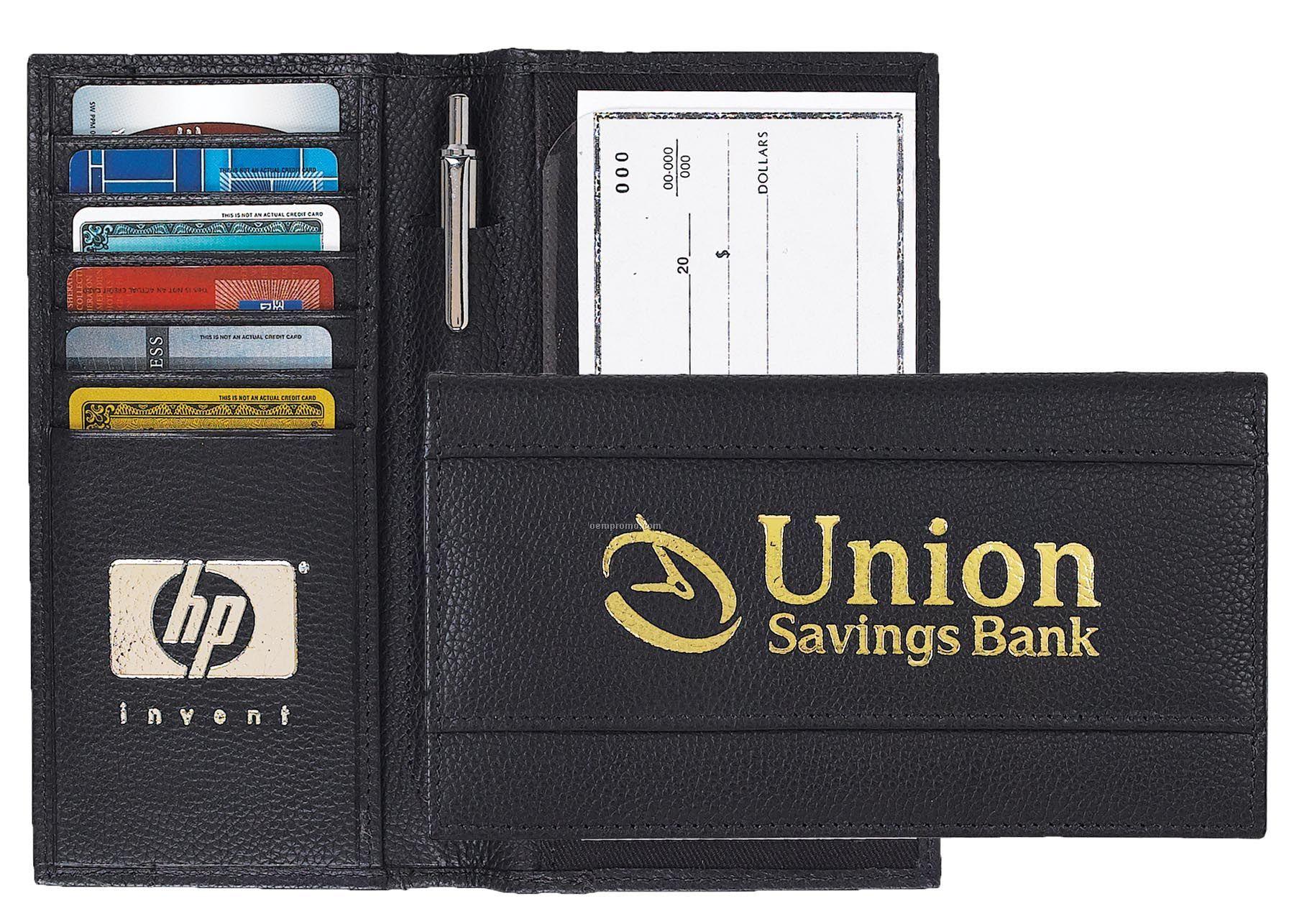 Corporate Elite Checkbook Cover - Imported