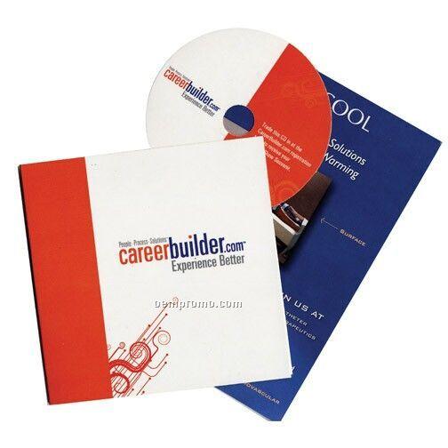 Faux CD Invitation & Traffic Builder