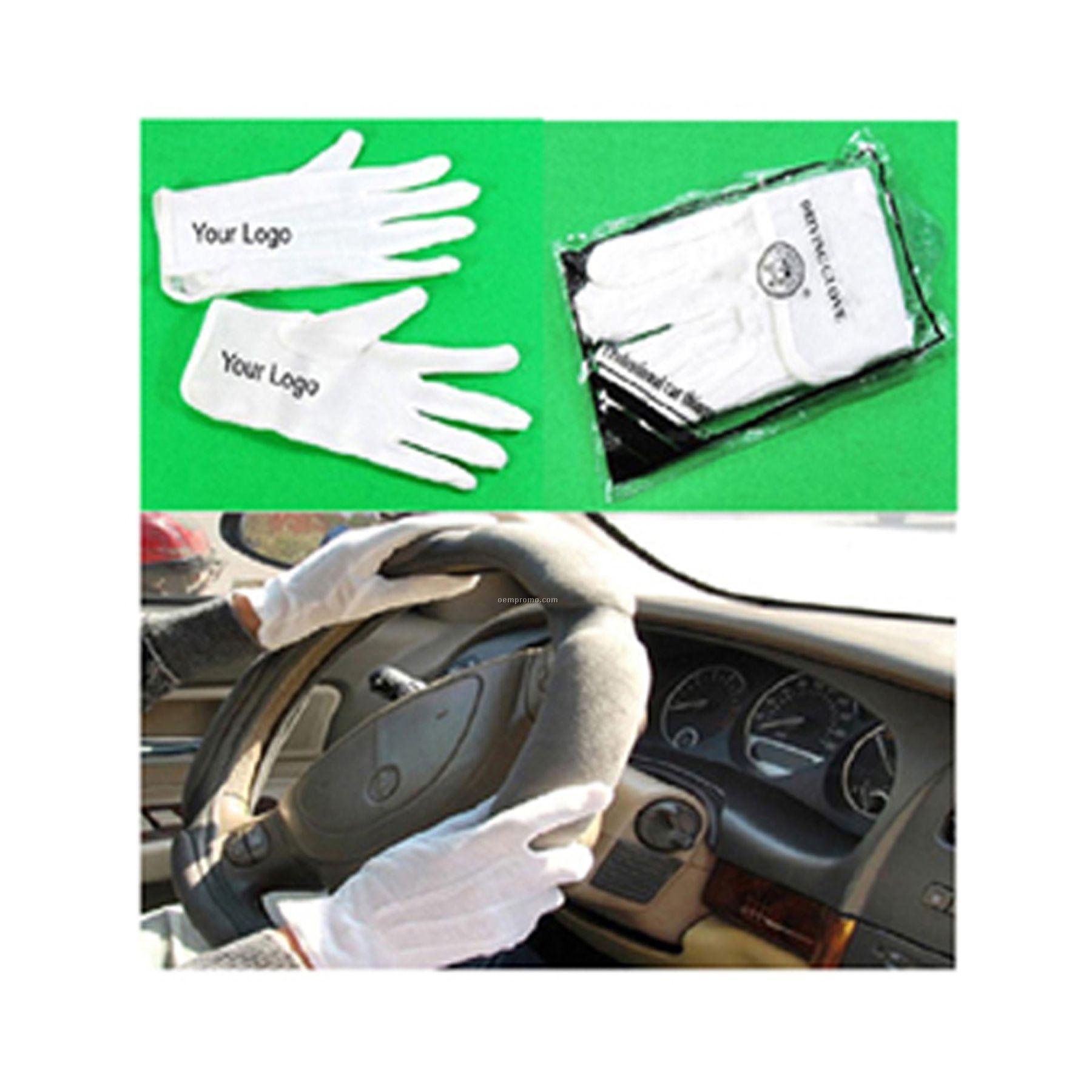 Anti-skidding Driving Glove, High Class Cop Driving Glove,Inspect Driving