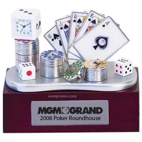 Casino Themed Clock
