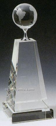 Medium Globe Trophy
