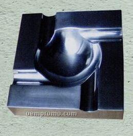 Square Aluminum Cigar Ashtray