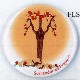 Surrender To Prayer Button - Psalm 16:8