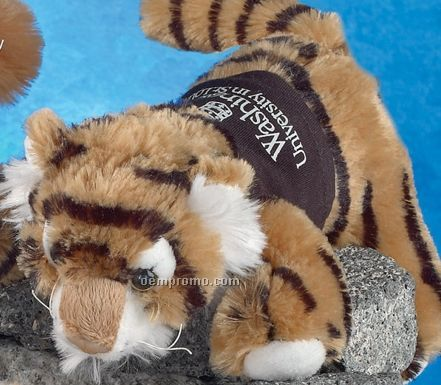 "8"" Floppets Tiger Stuffed Animal"