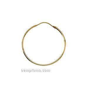 Ladies' 14ky 20mm Hoop Earring
