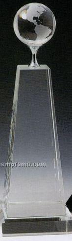 Large Globe Trophy
