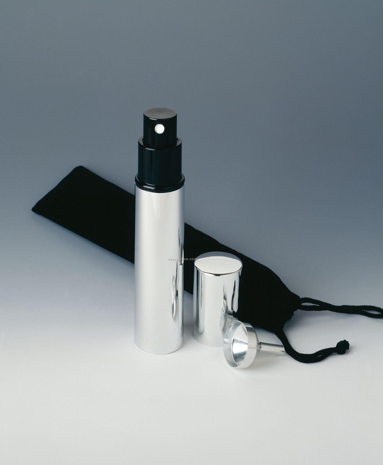 Martini Spray Set W/ Funnel & Sack- Laser Engraved