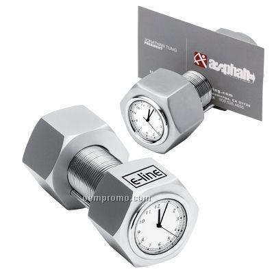 Nut & Bolt Clock