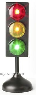 "LED Traffic Light Lamp / Battery Operated (8.25""X3"")"