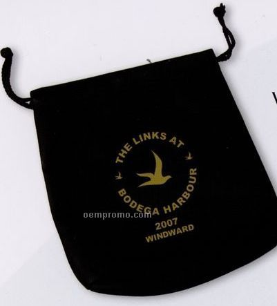 Leatherette Valuables Vinyl Pouch (Silk Screened)