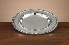 Mini Beads Pewter Plate