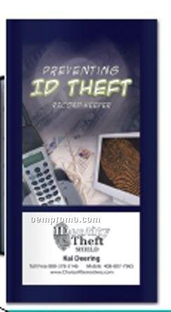 Mini Pocket Pro - Id Theft Brochure - Preventing Id Theft Record Keeper