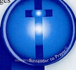 Surrender To Prayer Button - Psalm 27:1
