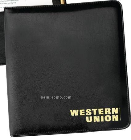 """Washington Executive 1 1/4"""" Ring Binder W/ 2 File Pocket"""
