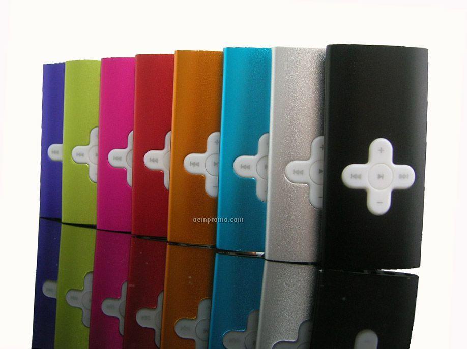 Aluminum Mp3 Player - 1 Gb