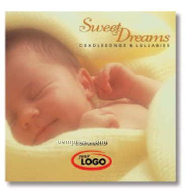 Children's Sweet Dreams Compact Disc In Jewel Case/ 8 Songs/9-16 Instrument