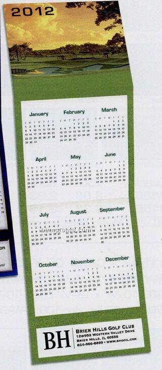 Golf Trifold Calendar (By 10/01/11)