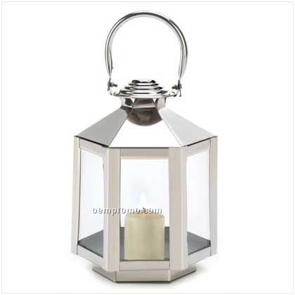 Silver Carriage Lantern