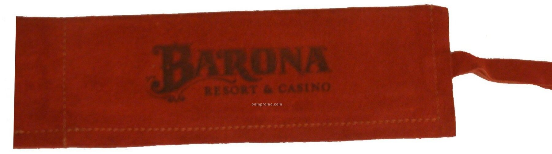 Suede Skillet/Bbq Sleeve, Hot Branded, Washable (Rust)