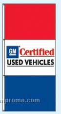 Double Face Dealer Interceptor Drape Flags - Gm Certified