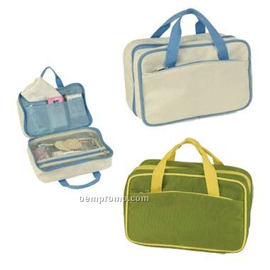 Front Zippered Large Accessory Bag / Screen