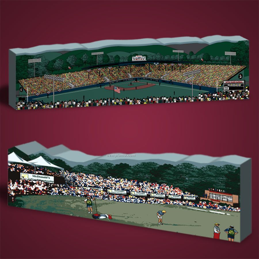 35 Square Inch Events Wooden Replica