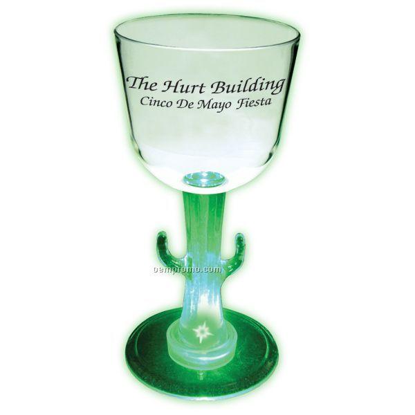 7 Oz. Lighted Novelty Stem Wine Glass