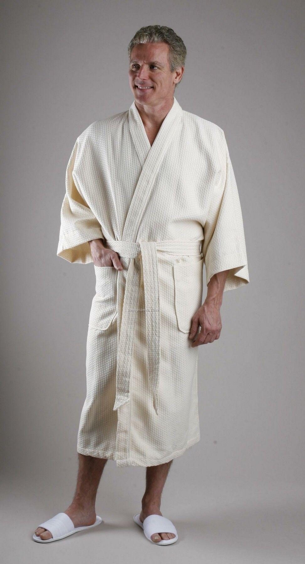 Blended Lightweight Diamond Weave Kimono With Dolman Sleeves (Xl)