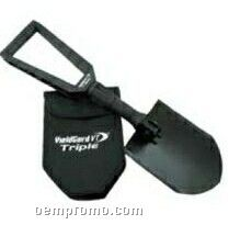 Mini Hand Shovel W/ Case