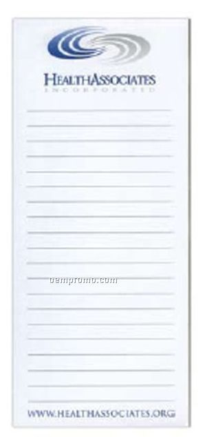 50 Sheet Scratch Pad W/ Chipboard Back