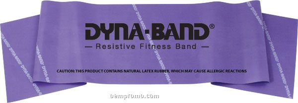 """Dyna-bands 3' X 6"""" Exercise Band, Heavy"""