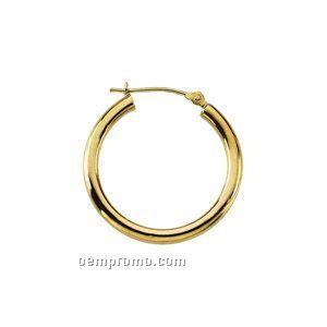 Ladies' 14ky 39-1/2mm Hoop Earring