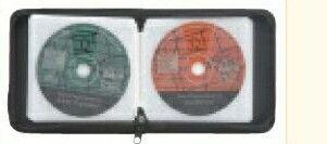 24 CD Holder Vinyl Case W/Zipper Closure