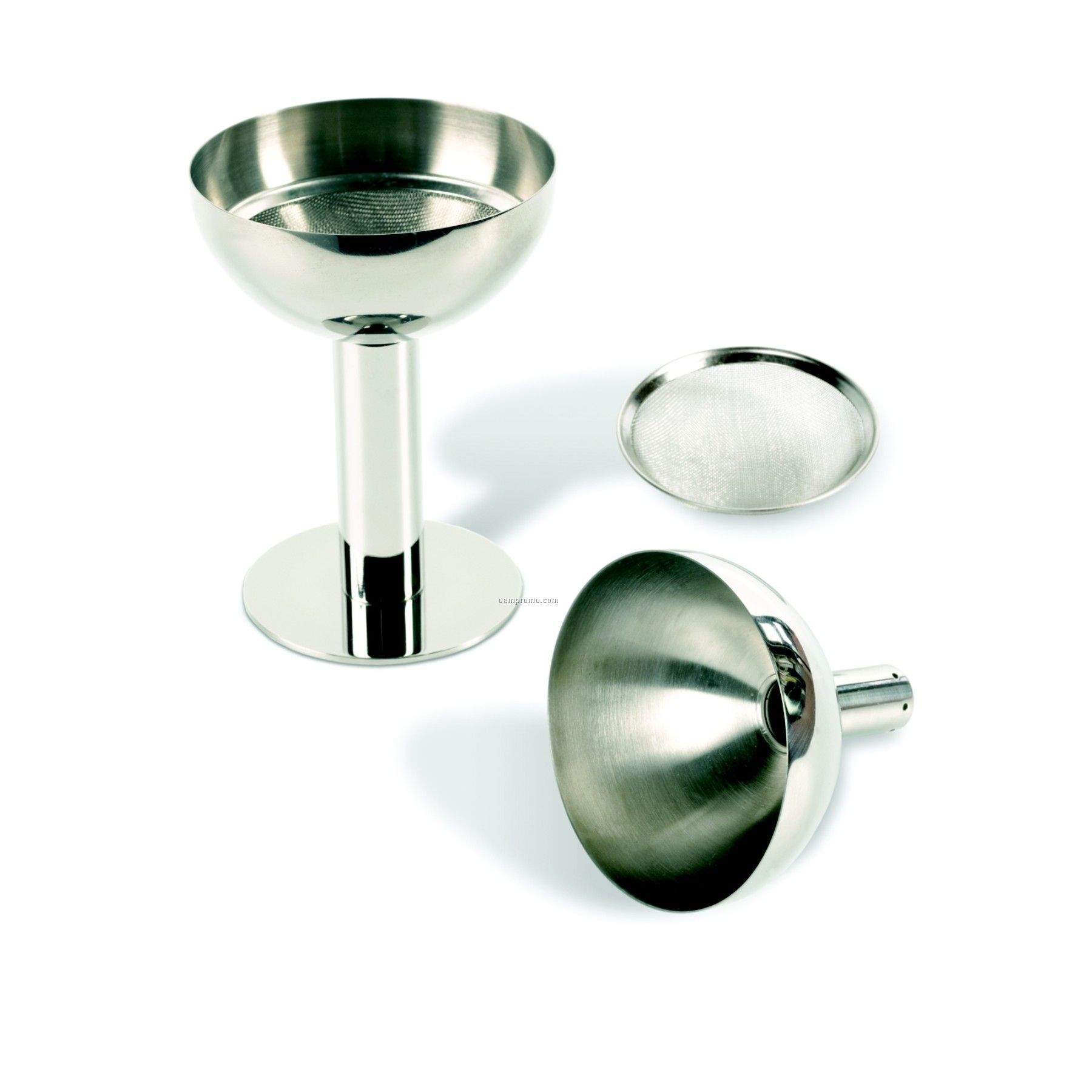 Stainless Steel Decanter Funnel Set