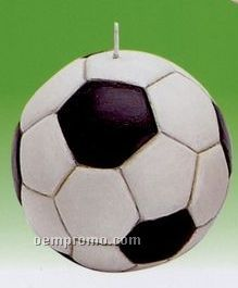 Stock Soccer Ball Candle