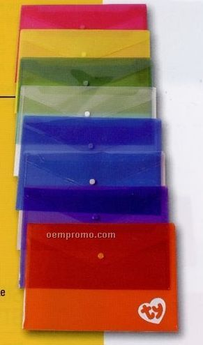 Translucent Poly Snap Envelope