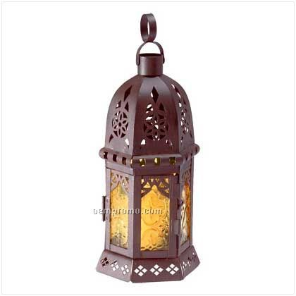 Yellow Moroccan Lantern