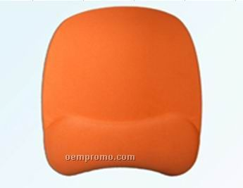 Cloth-top Foam Mouse Pad With Gel Wrist Rest 1