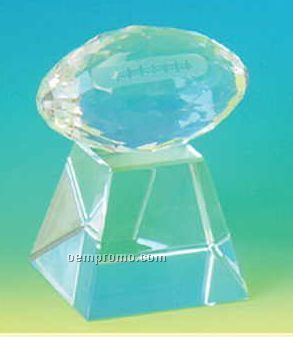 Crystallize Football Trophy (Screened)