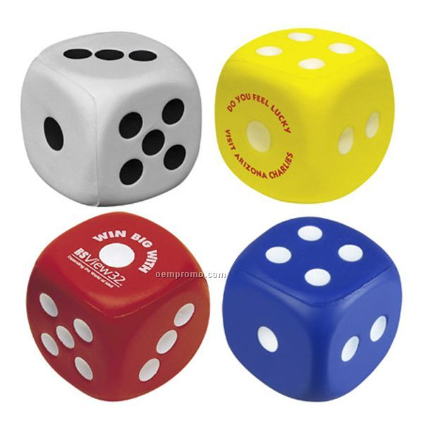 Dice Squeeze Toy