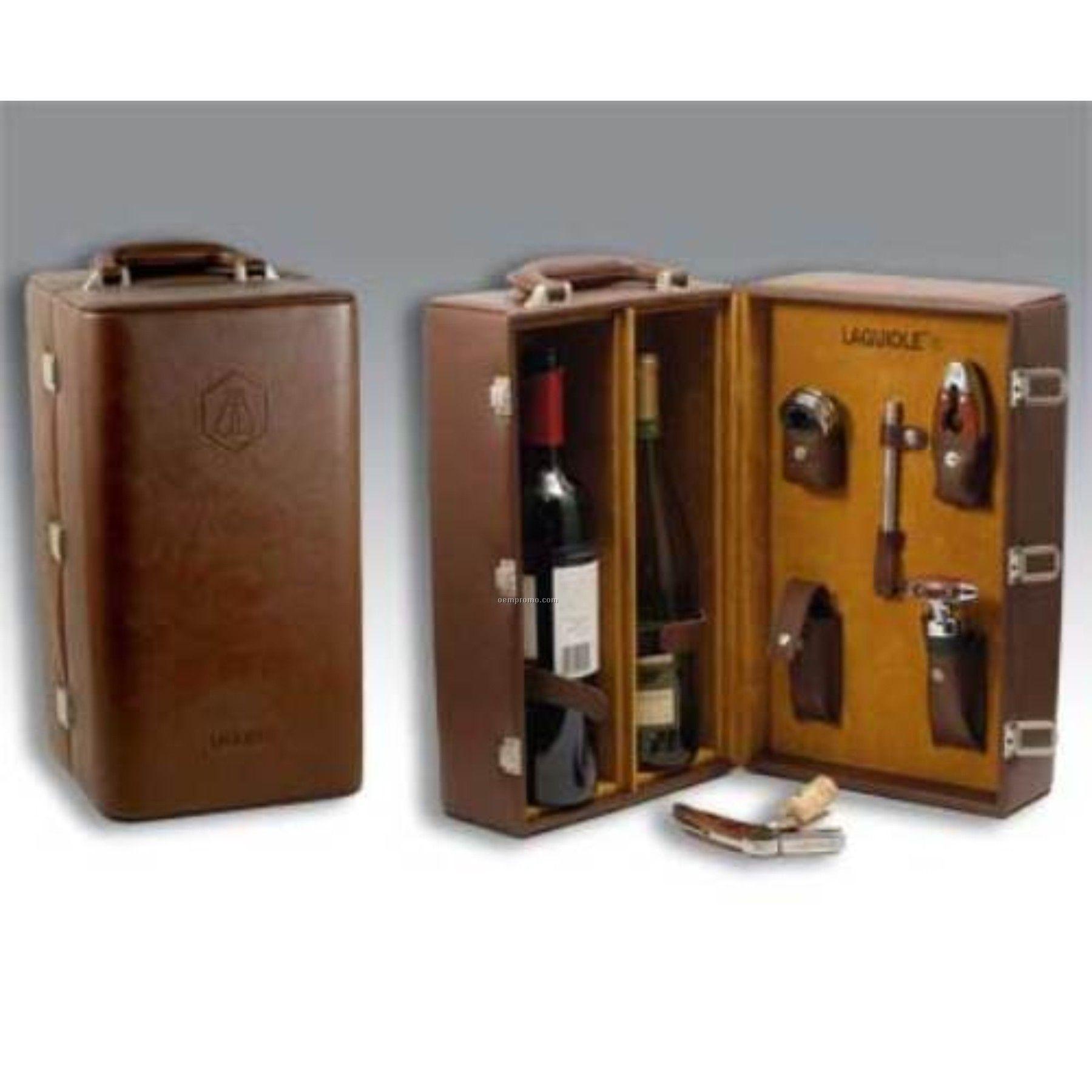 Laguiole Wine Valise