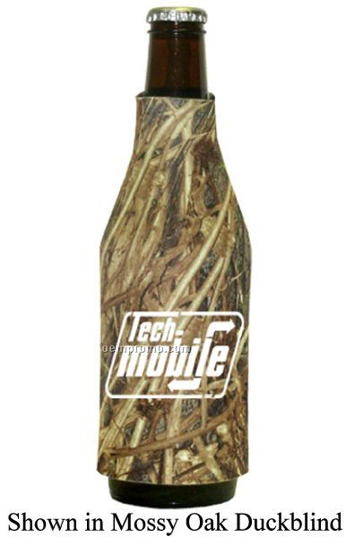 Mossy Oak Licensed Camo Premium Collapsible Foam Bottle Sleeve Insulators