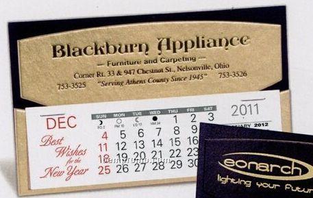 The Midas Warwick Premier Desk Calendar (January - April)