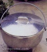 12 Oz. Small Soup Kettle With Handle & Lid