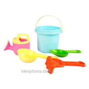 Beach Pack With Bucket/ Shovel & Watering Can