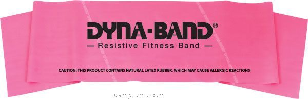 "Dyna-bands 4' X 6"" Exercise Band, Light"