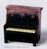 Early American Bronze Metal Pencil Sharpener - Upright Piano